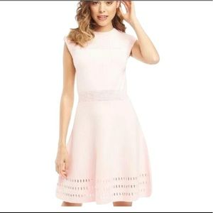 Ted Baker Pink Knit Dress